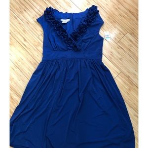 Maggie London Ruffle Dress